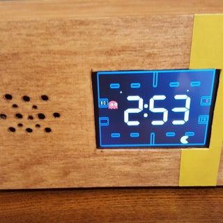 Retro Pac-Man Clock