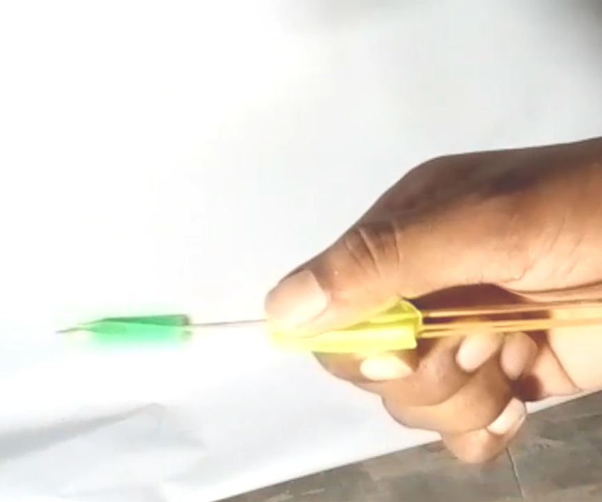 How to Make an Small Pen Crossbow!