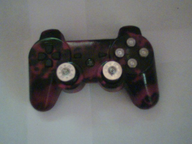 How to paint a ps3 controller tiger camo