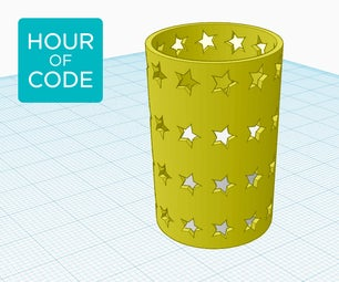 Code-generated Patterns in Tinkercad