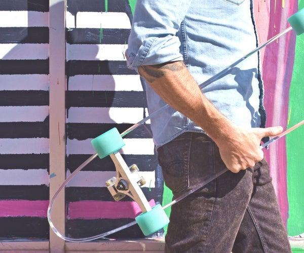 Build a Skateboard From Scrap Acrylic
