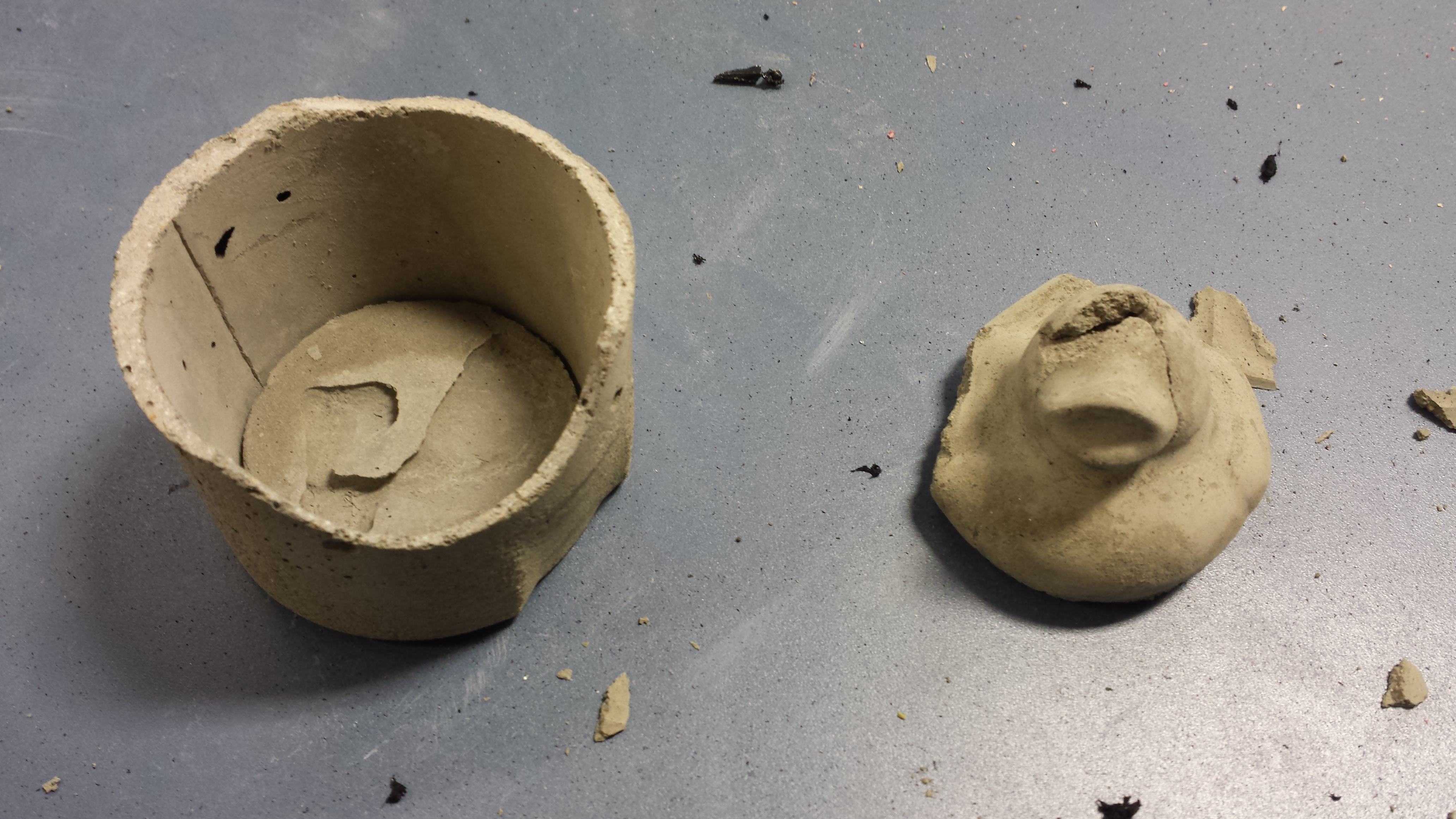Casting Molds With Voids
