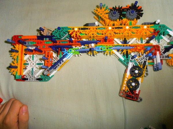 New Knex Bullpup Mag Release
