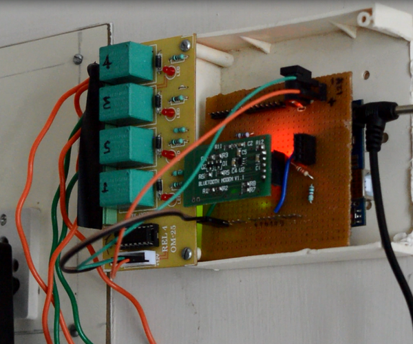 ARDUINO BASED VOICE ACTIVATED HOME APPLIANCES