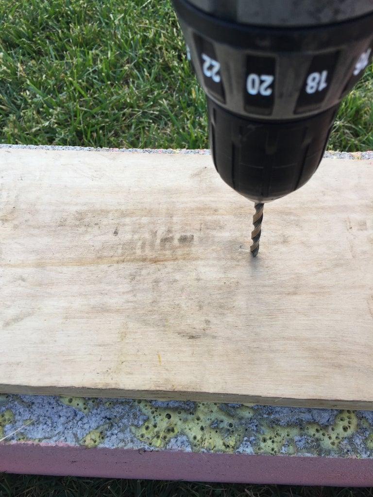 Glue and Drill