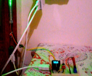PixelOrgan: Sound-responsive DotStar LED Strip (with MicroView)