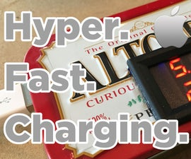 DIY IPhone Hyper Charger   Charge Your Phone 2x Faster!