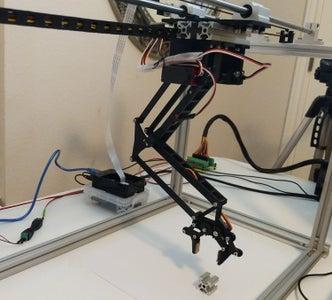 Horizontal Travel Robot Arm