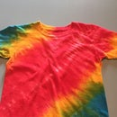 Rainbow Tie Dye for Tots