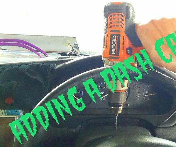 Adding a Dash Camera to My Drive Record Unit.