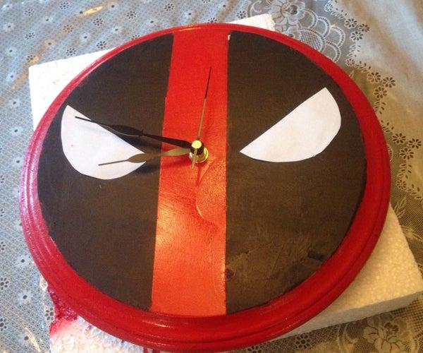 DIY Deadpool Clock