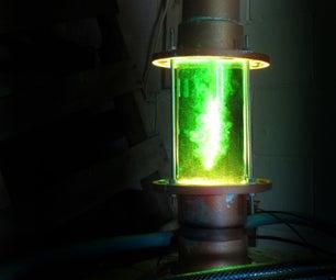Bubbling Pipe Lamp