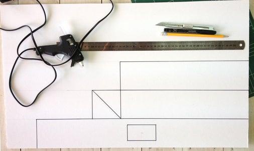 Draw the Iphone Tripod Plan
