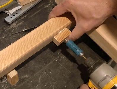"Woodworking - ""Trolley"" (Horizontal Motion) Mechanism 4"