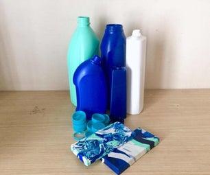 HDPE Blocks From Plastic Bottles