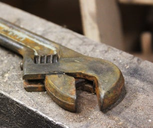 Restoring an Old Wrench
