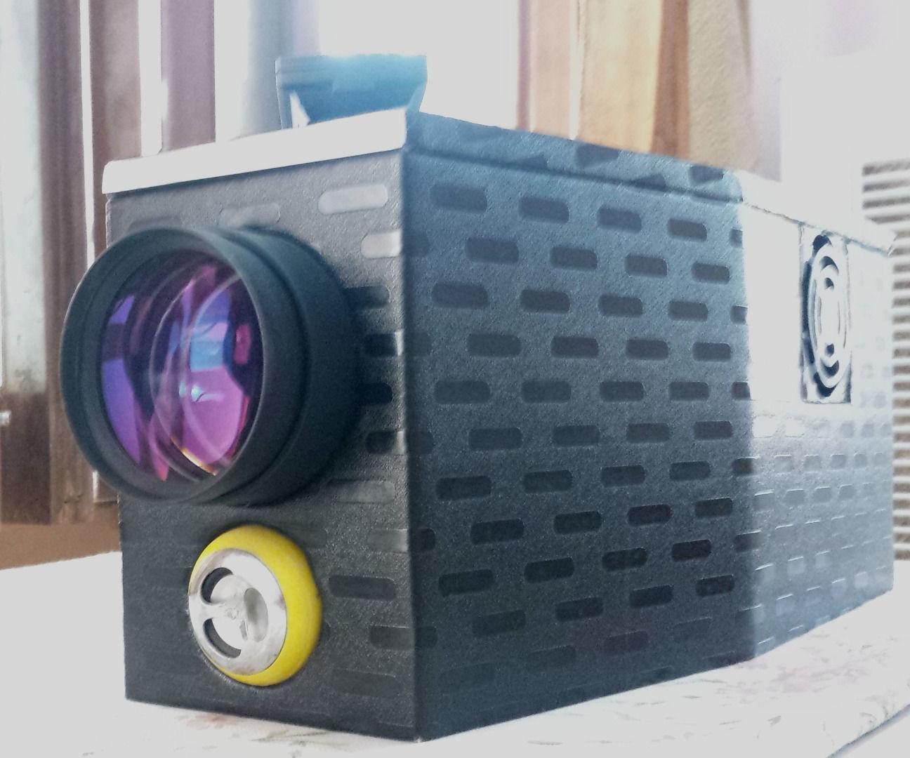 DIY LED Projector V 2.0