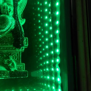 Arduino-controlled RGB LED Infinity Mirror