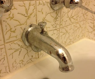 Repair a Tub Filler Diverter With Stripped Threads