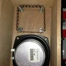 Basic Cigar Box Guitar Amp With Tripod Stand