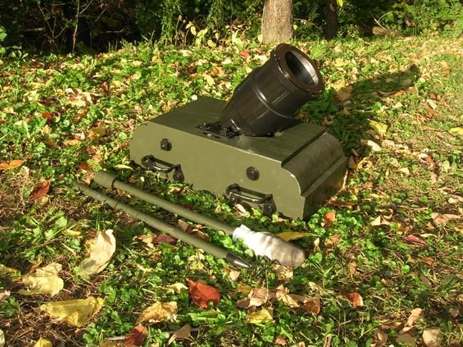 Black Powder Mortar (full scale)