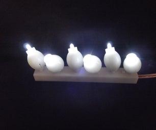 3D Printed LED Light Strip