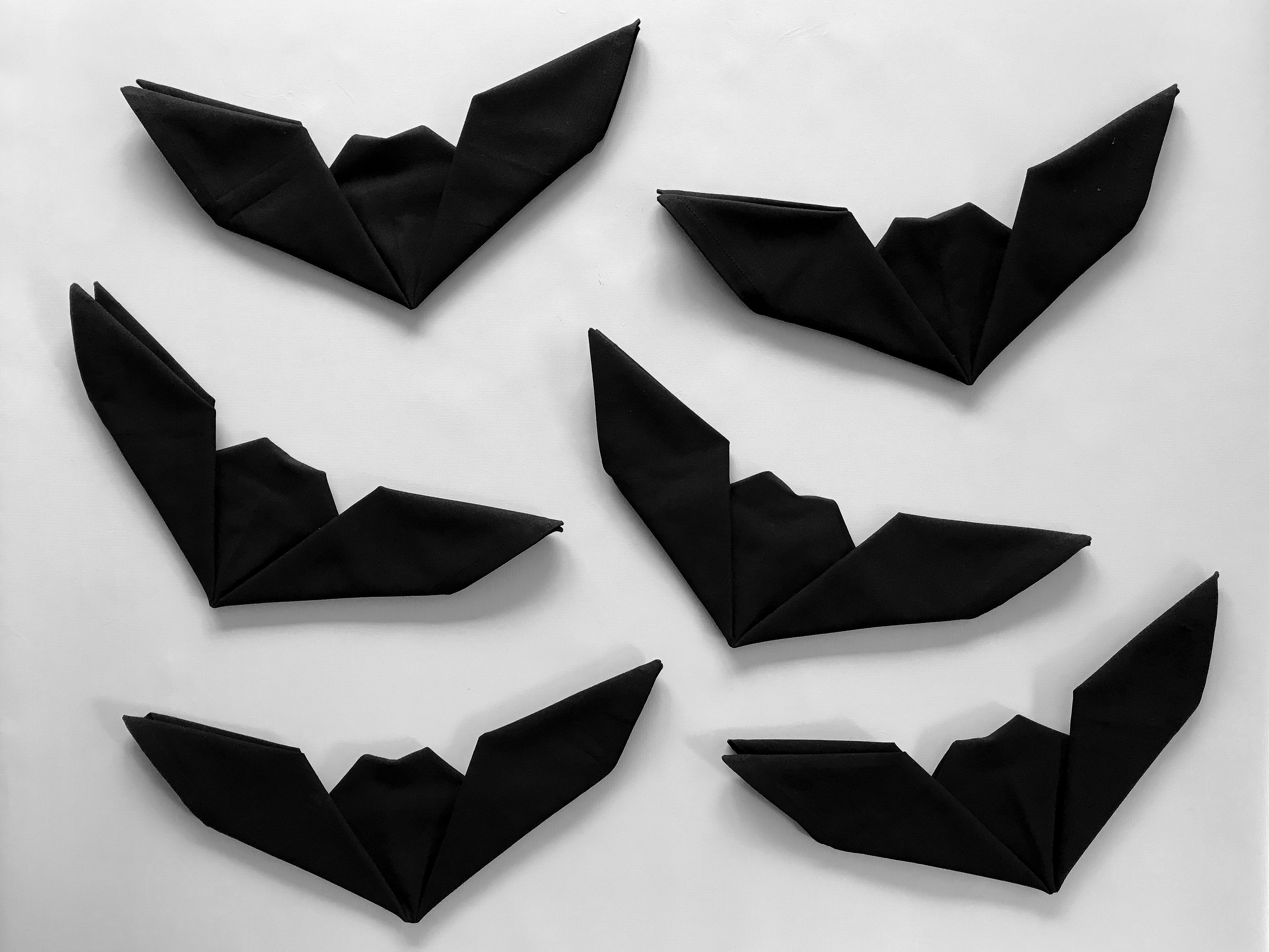 Bat Napkin Folding With Pictures Instructables