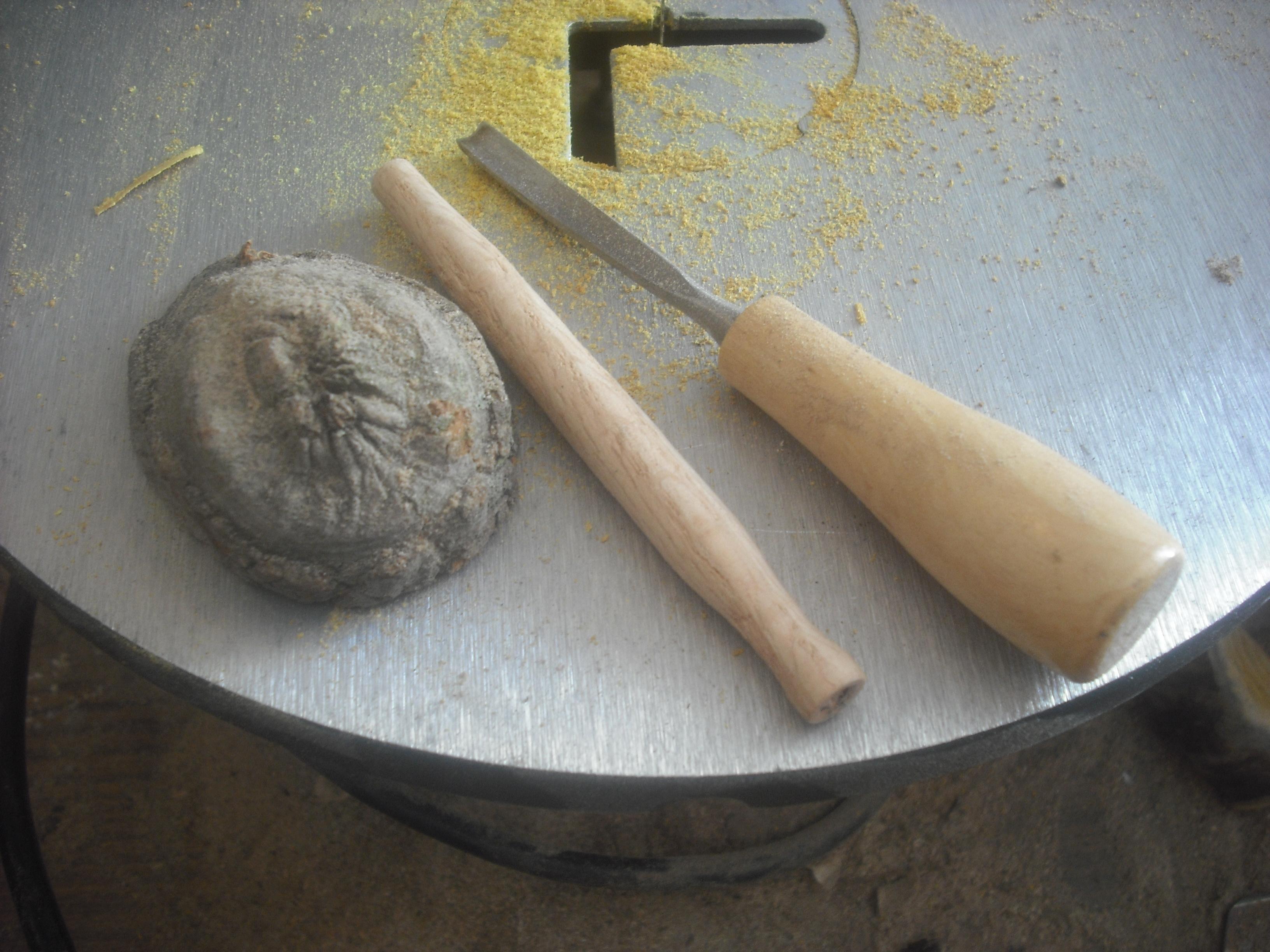 Burl Tobacco Pipe
