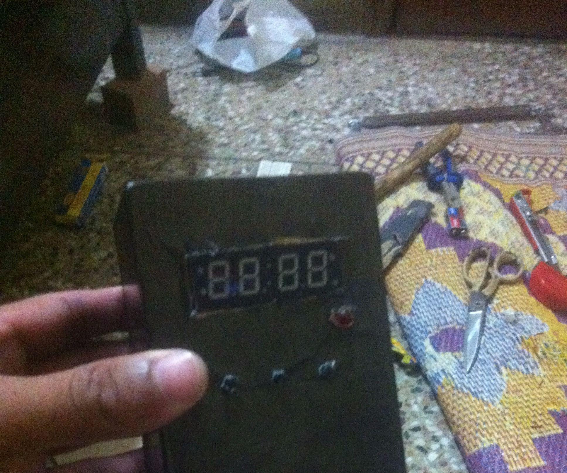 Digital Clock using Arduino
