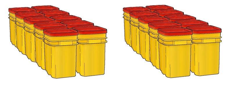 Prep the Buckets