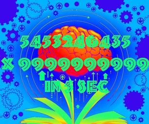 5453246435 X 9999999999 in 5 Sec