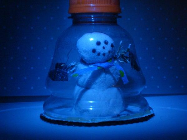 Baja Snowman Gift Card or Embellishment