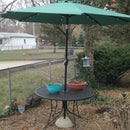 Patio Umbrella Stand (the use what you have method)