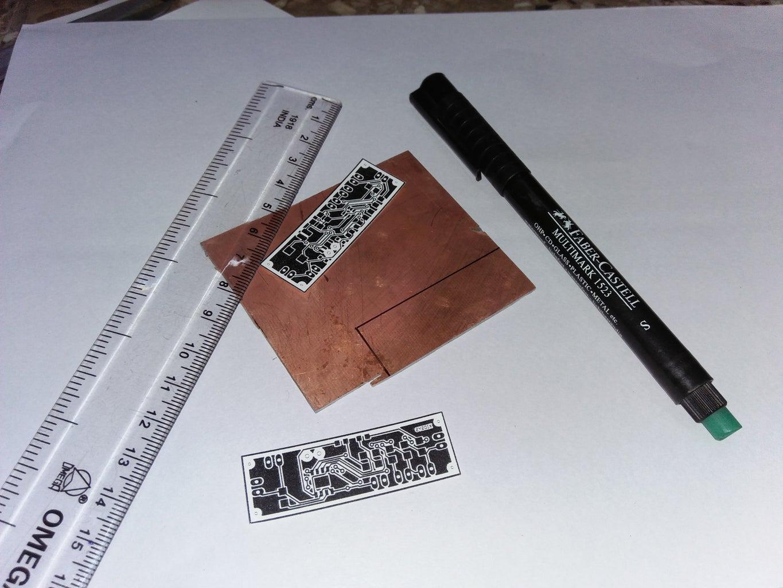 Cutting of Copper Board