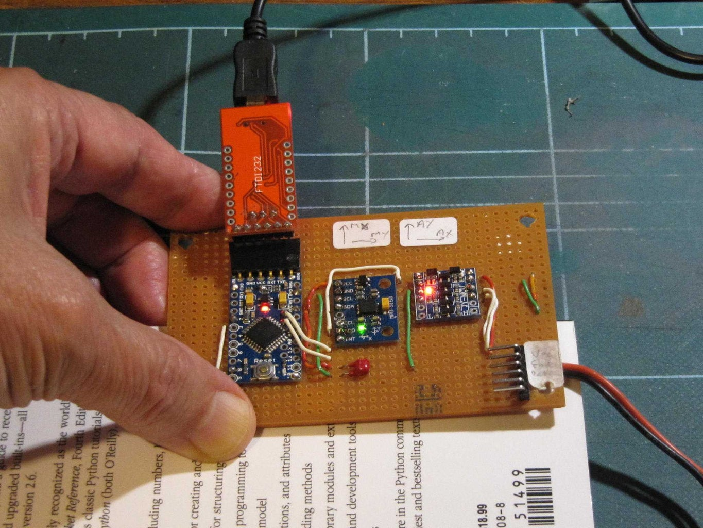 MPU-9150 Manual Calibration