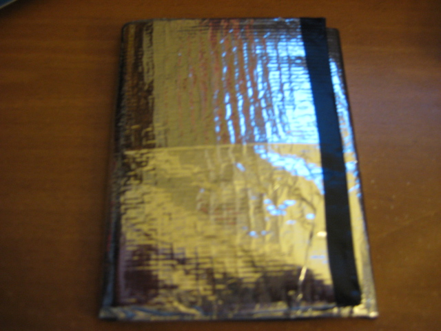 How to make a shiny Duct Tape trifold wallet using more than just tape