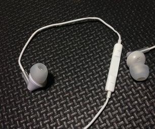 将耳机转换为带遥控器和麦克风的入耳式耳机(适用于iPhone)