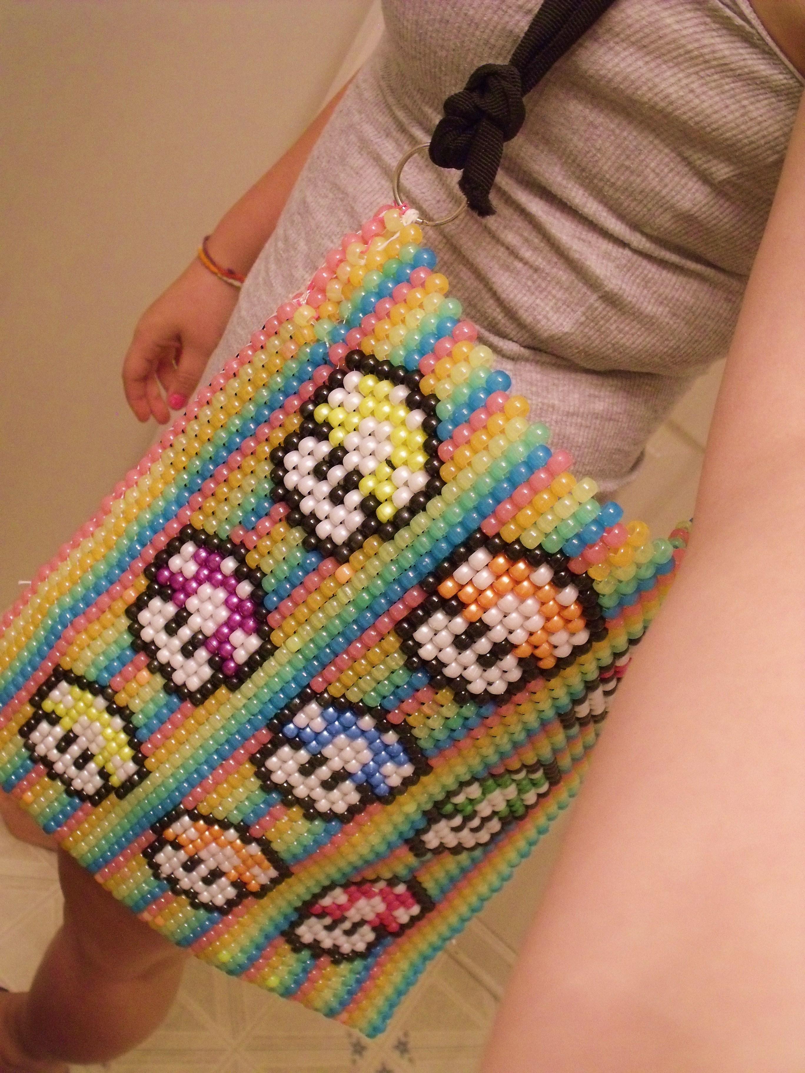 Pony Bead Mario Tote Bag