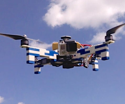 LEGO Drone With GoPro Camera