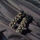 Paracord Zipper Pull: Box Knot