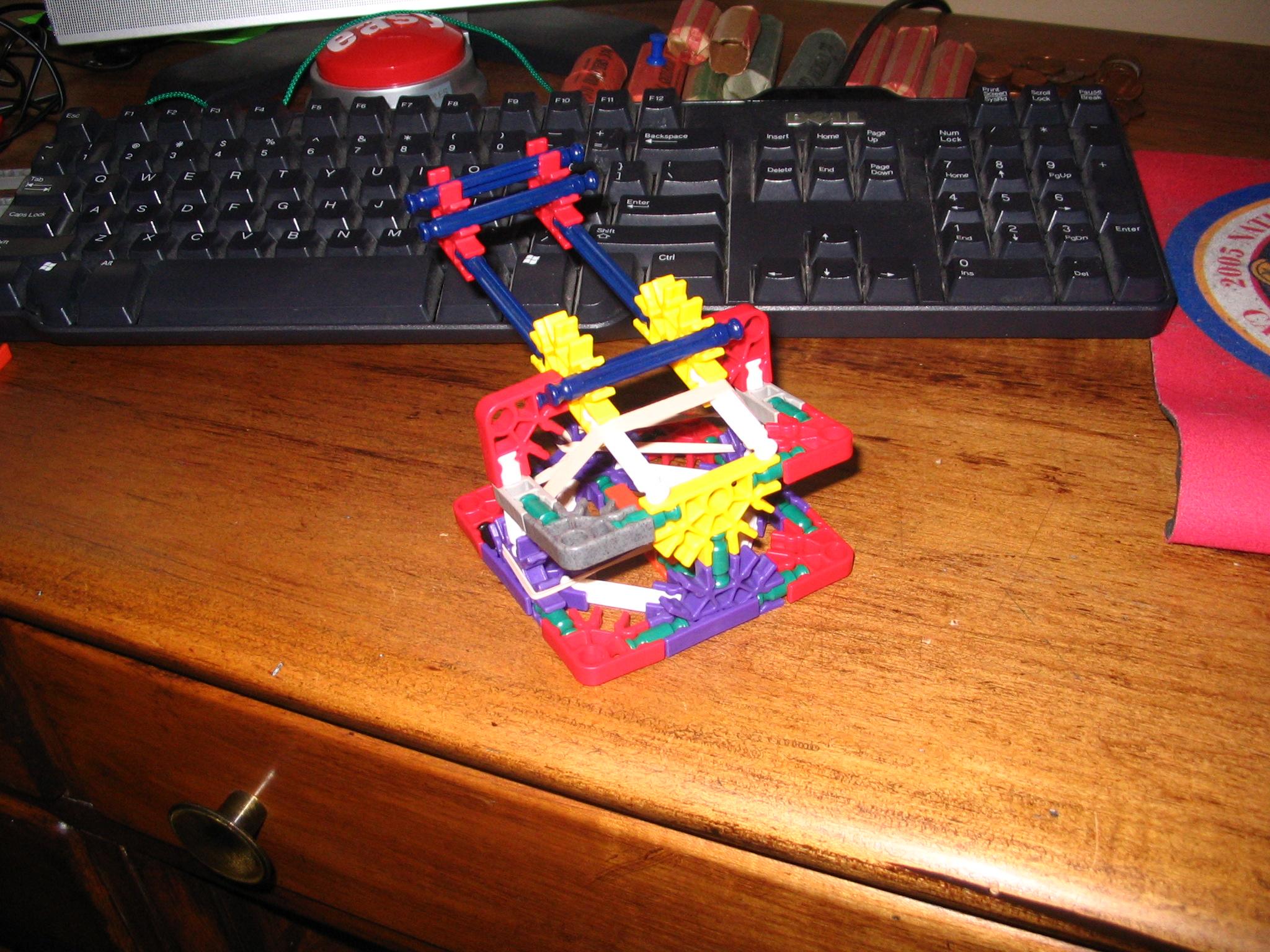 K'nex mini catapult