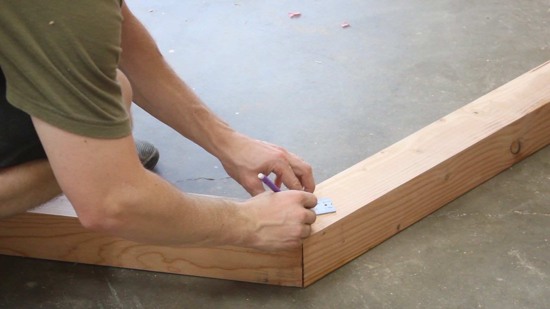 Preparation to Connect the Sides