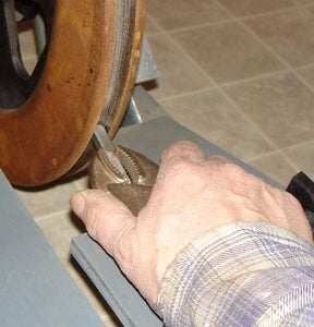 Turn a Groove on the Flywheel