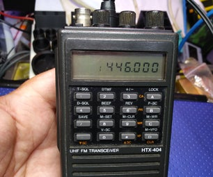 How to Replace the Memory Battery on an Htx202 or Htx404 Ham Radio
