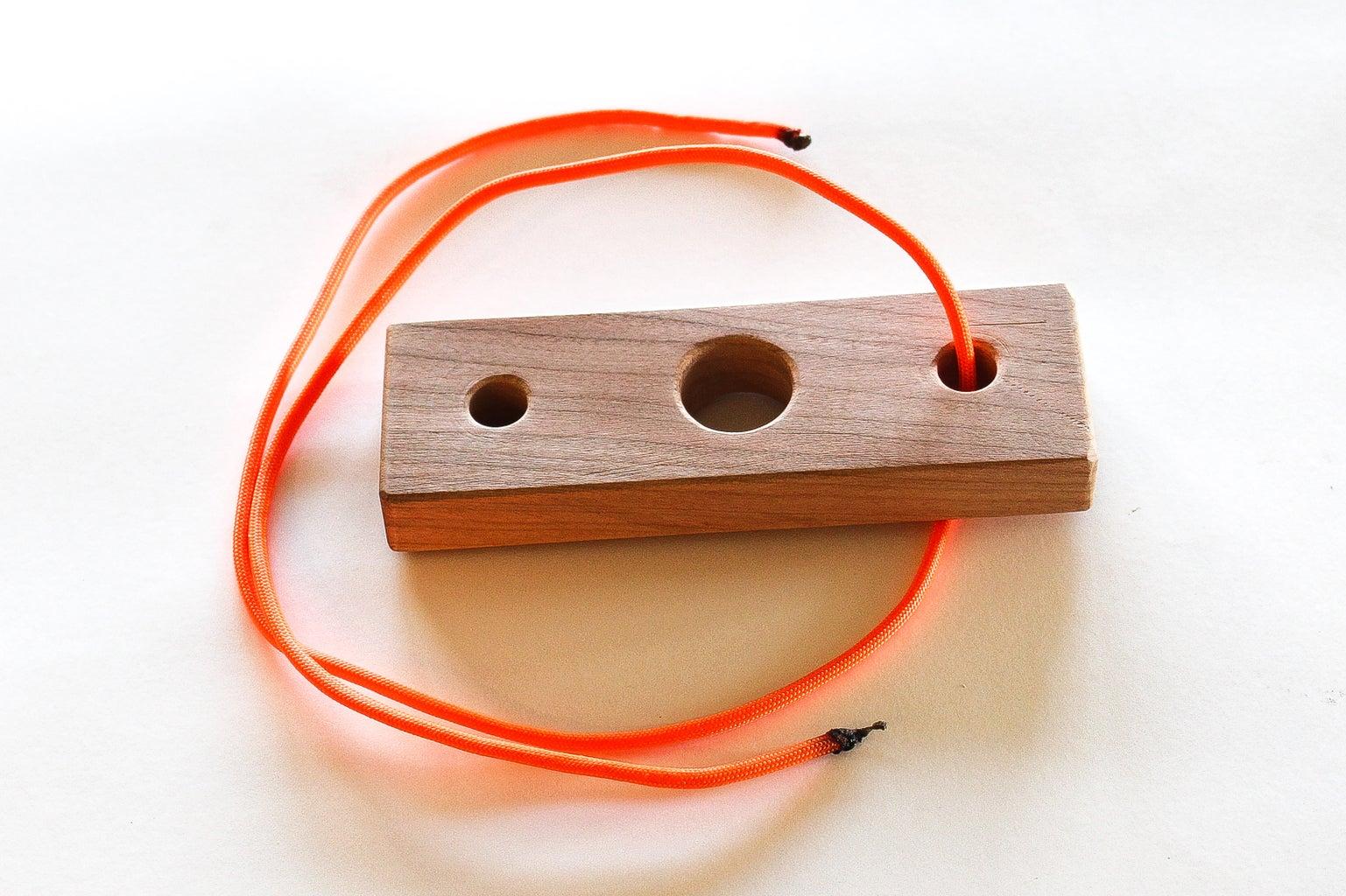 Feed String Through First Hole
