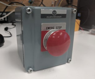 Wireless Safety Button for PLC Safety