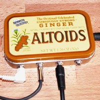 Altoids Stereo Mixer