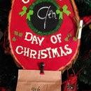 Christmas Advent Plaque