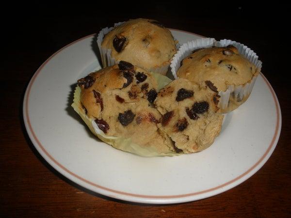 Craisin-Chocolate Chip Muffins