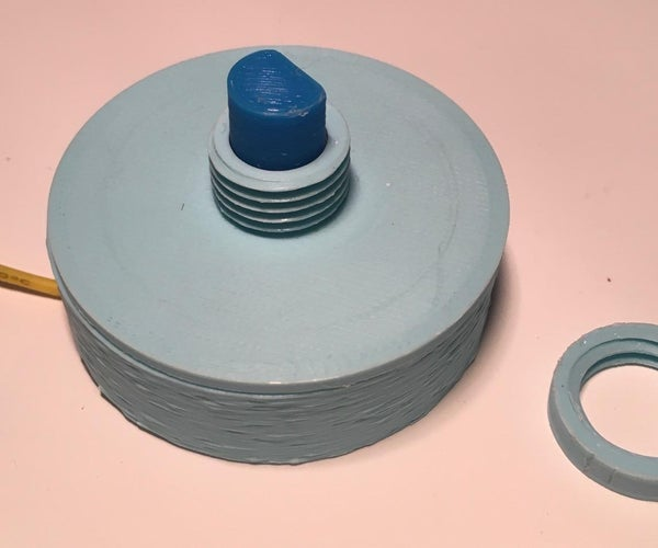 Another Mostly 3D Printed Rotary Switch